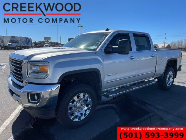 2015 GMC Sierra 2500HD SLT 4x4 Duramax Diesel 1 Owner 20s New Tires CLEAN