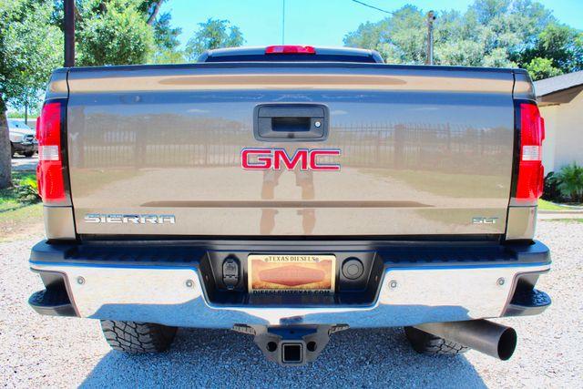 2015 GMC Sierra 2500HD SLT Crew Cab 4x4 6.6L Duramax Diesel Allison Auto Sealy, Texas 15
