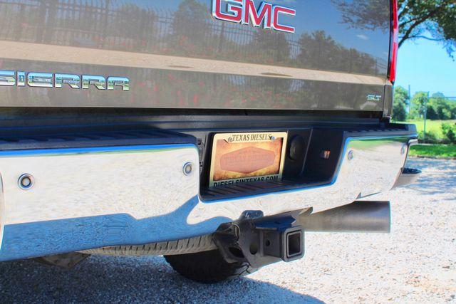 2015 GMC Sierra 2500HD SLT Crew Cab 4x4 6.6L Duramax Diesel Allison Auto Sealy, Texas 17