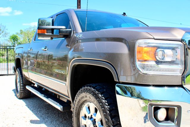 2015 GMC Sierra 2500HD SLT Crew Cab 4x4 6.6L Duramax Diesel Allison Auto Sealy, Texas 2