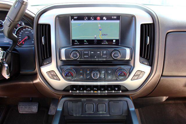 2015 GMC Sierra 2500HD SLT Crew Cab 4x4 6.6L Duramax Diesel Allison Auto Sealy, Texas 53