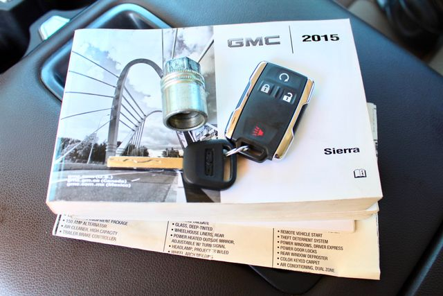 2015 GMC Sierra 2500HD SLT Crew Cab 4x4 6.6L Duramax Diesel Allison Auto Sealy, Texas 75