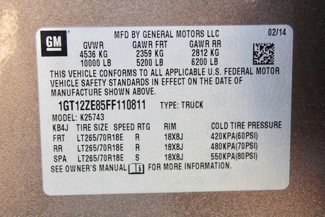 2015 GMC Sierra 2500HD SLT Crew Cab 4x4 6.6L Duramax Diesel Allison Auto Sealy, Texas 79