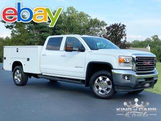 2015 Gmc Sierra 3500hd 4X4 6.0L GAS CREW CAB UTILITY TRUCK LOADED in Woodbury, New Jersey 08093