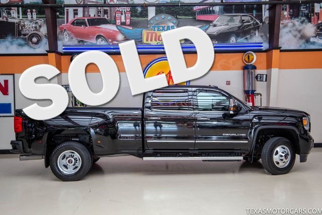 2015 GMC Sierra 3500HD Denali DRW 4x4 in Addison, Texas 75001