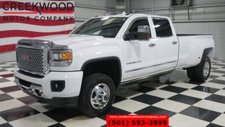 2015 GMC Sierra 3500HD Denali 4x4 Diesel Dually White 1 Owner Nav Chrome in Searcy, AR 72143