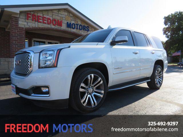 2015 GMC Yukon Denali    Abilene, Texas   Freedom Motors  in Abilene,Tx Texas