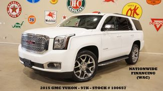 2015 GMC Yukon SLT 4X4 BACK-UP CAM,REAR DVD,CHROME 22'S,97K in Carrollton, TX 75006