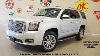 2015 GMC Yukon Denali ROOF,NAV,REAR DVD,HTD/COOL LTH,CHROME 20'S,28K in Carrollton TX, 75006