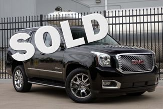 2015 GMC Yukon Denali 1-OWNER * 4x4 * DVD * Sunroof * QUADS * Navigation Plano, Texas