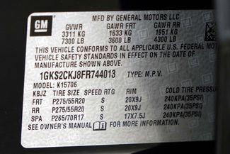 2015 GMC Yukon Denali 1-OWNER * 4x4 * DVD * Sunroof * QUADS * Navigation Plano, Texas 52