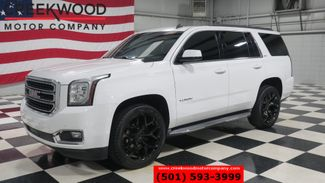 2015 GMC Yukon SLT 4x4 White 1 Owner Nav Roof Tv Dvd Chrome 22s in Searcy, AR 72143