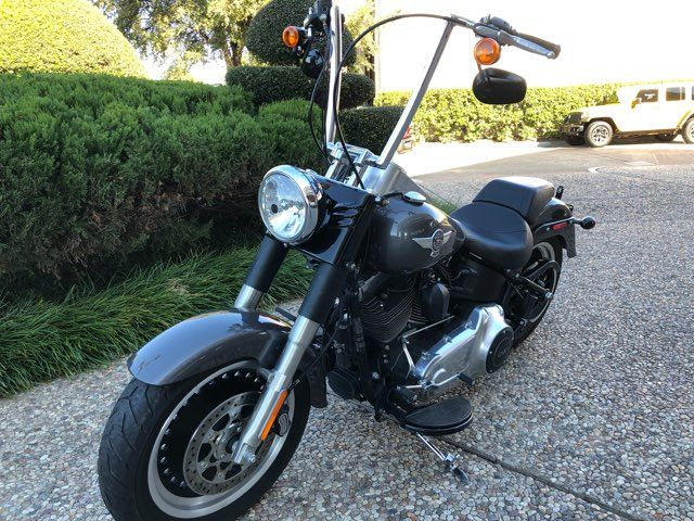 2015 Harley-Davidson Fat Boy Lo in McKinney, TX 75070