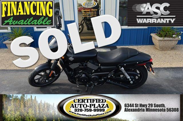 2015 Harley-Davidson Street 750 in Alexandria Minnesota