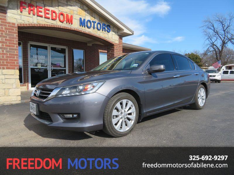2015 Honda Accord EX-L | Abilene, Texas | Freedom Motors  in Abilene Texas