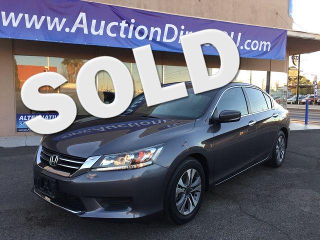 2015 Honda Accord LX 5 YEAR/60,000 MILE FACTORY POWERTRAIN WARRANTY Mesa, Arizona