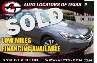 2015 Honda Accord LX   Plano, TX   Consign My Vehicle in  TX