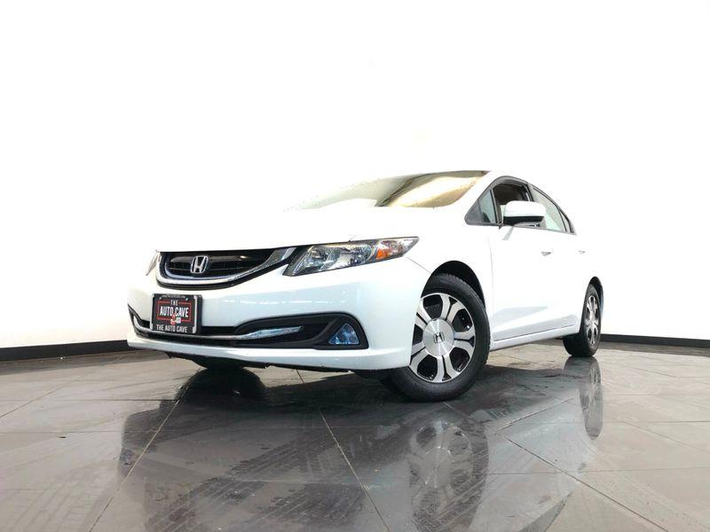 2015 Honda Civic *2015 Hybrid CVT w/Leather*45K Miles* | The Auto Cave in Addison