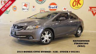 2015 Honda Civic HYBRID BACK-UP CAM,CLOTH,62K,WE FINANCE in Carrollton, TX 75006