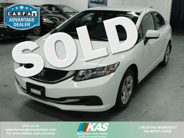 2015 Honda Civic LX Kensington, Maryland 0
