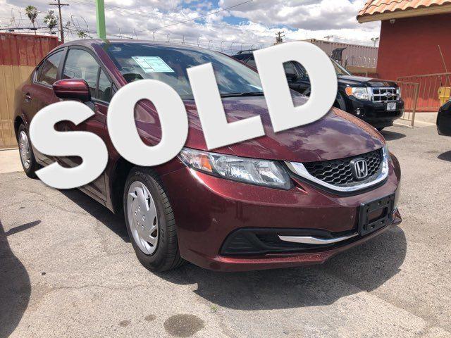 2015 Honda Civic LX CAR PROS AUTO CENTER (702) 405-9905 Las Vegas, Nevada