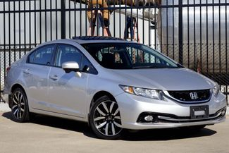 2015 Honda Civic EX-L* Sunroof* Leather* EZ Finance* | Plano, TX | Carrick's Autos in Plano TX