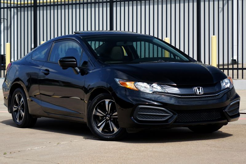2015 Honda Civic EX* Sunroof* Only 34k mi* EZ Fiannce** | Plano, TX | Carrick's Autos in Plano TX