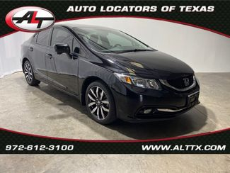 2015 Honda Civic EX-L with NAVIGATION in Plano, TX 75093