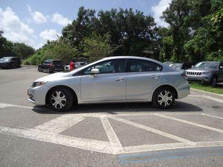2015 Honda Civic HYBRID SEFFNER, Florida 4