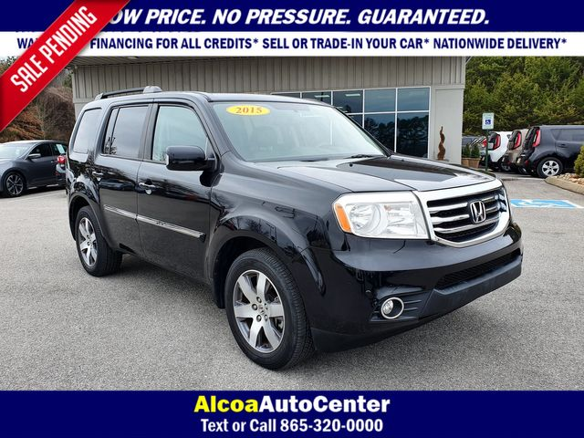 2015 Honda Pilot Touring 4WD w/Leather/Navigation/DVD