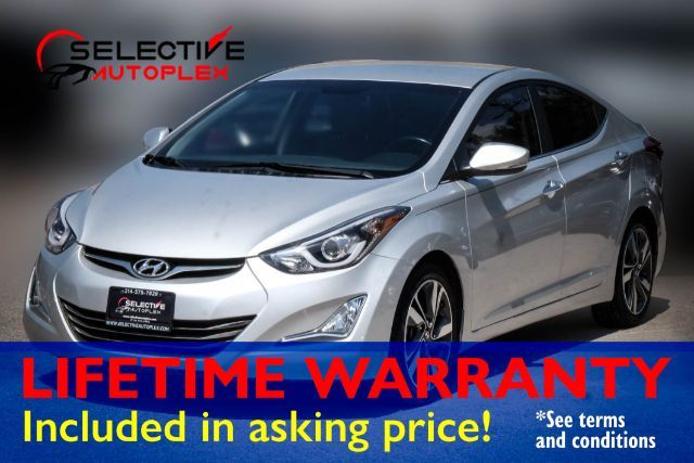 2015 Hyundai Elantra Limited, LEATHER SEATS, BACKUP CAM, BLUETOOTH