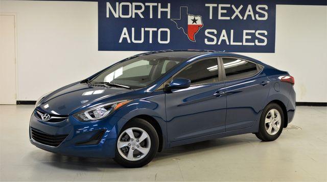 2015 Hyundai Elantra SE in Dallas, TX 75247