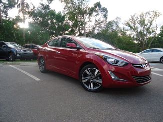 2015 Hyundai Elantra Limited. NAVIGATION. SUNROOF SEFFNER, Florida 10
