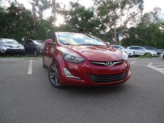 2015 Hyundai Elantra Limited. NAVIGATION. SUNROOF SEFFNER, Florida 12
