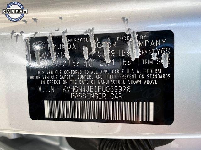 2015 Hyundai Genesis 3.8L Madison, NC 41