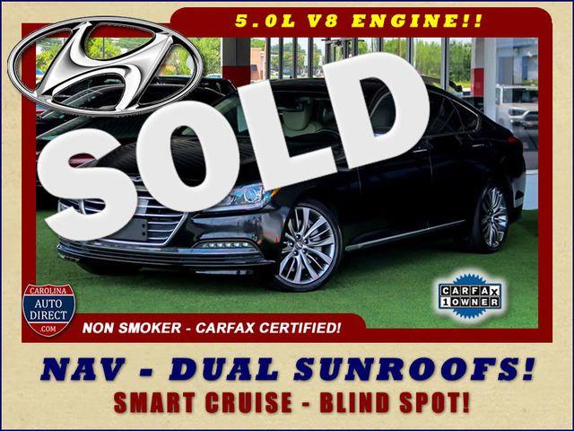 2015 Hyundai Genesis 5.0L RWD - NAV - DUAL SUNROOFS - SMART CRUISE! Mooresville , NC 0