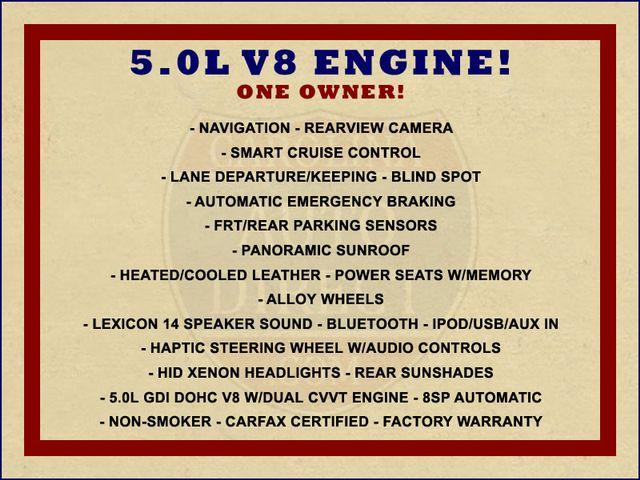2015 Hyundai Genesis 5.0L RWD - NAV - DUAL SUNROOFS - SMART CRUISE! Mooresville , NC 1
