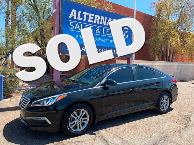 2015 Hyundai Sonata 2.4L SE 3 MONTH/3,000 MILE NATIONAL POWERTRAIN WARRANTY Mesa, Arizona