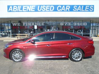2015 Hyundai Sonata 24L Limited  Abilene TX  Abilene Used Car Sales  in Abilene, TX
