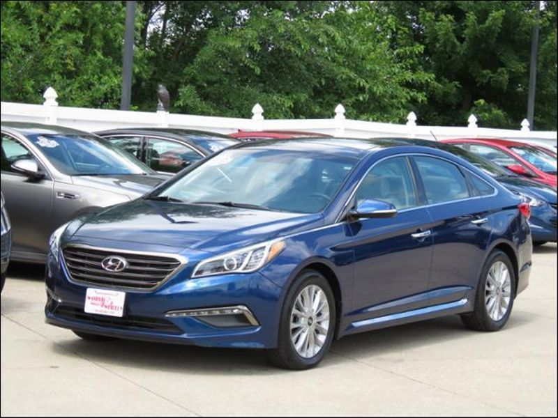 2015 Hyundai Sonata 2.4L Limited Lakeside Blue Leather/Nav/Panoramic in Ankeny IA