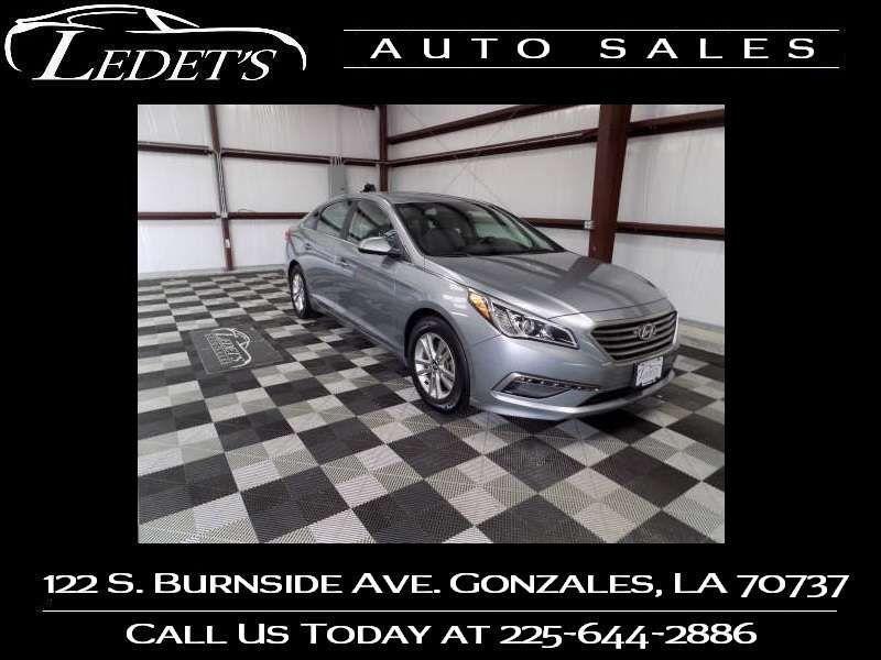2015 Hyundai Sonata 2.4L SE - Ledet's Auto Sales Gonzales_state_zip in Gonzales Louisiana