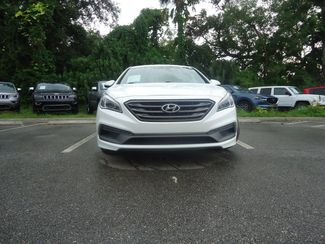 2015 Hyundai Sonata Sport PREM PKG. LEATHER. BLIND SPOT. PUSH START SEFFNER, Florida 10