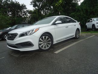 2015 Hyundai Sonata Sport PREM PKG. LEATHER. BLIND SPOT. PUSH START SEFFNER, Florida 4