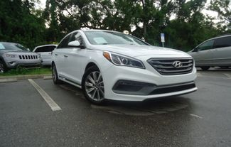 2015 Hyundai Sonata Sport PREM PKG. LEATHER. BLIND SPOT. PUSH START SEFFNER, Florida 8