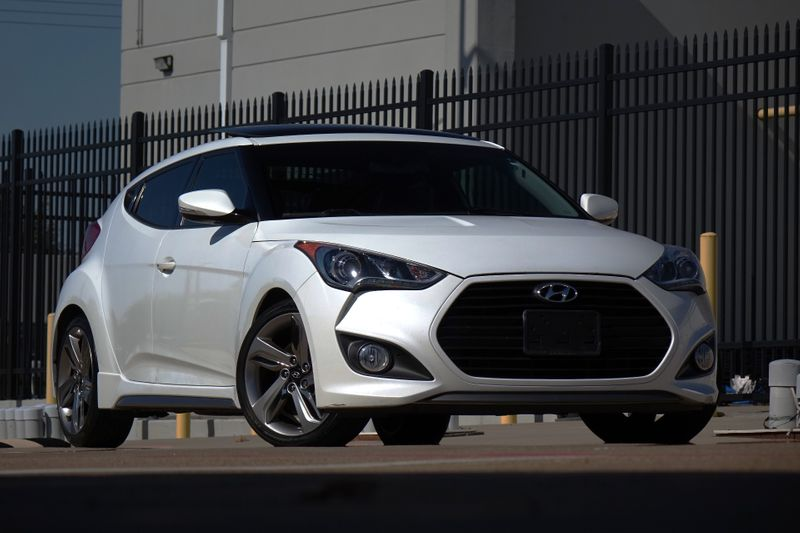 2015 Hyundai Veloster Turbo* BU Cam* Nav* Sunroof* Auto* EZ Finance** | Plano, TX | Carrick's Autos in Plano TX