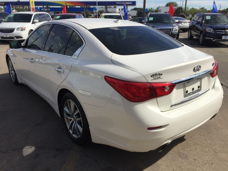 2015 Infiniti Q50 Premium  Brownsville TX  English Motors  in Brownsville, TX