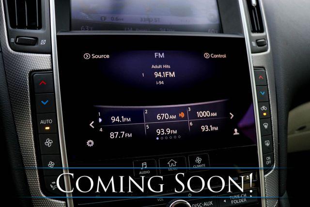 2015 Infiniti Q50 Premium 3.7 AWD Luxury-Sport Sedan w/Nav, Backup Cam, Heated Seats, Moonroof & BOSE Audio in Eau Claire, Wisconsin 54703