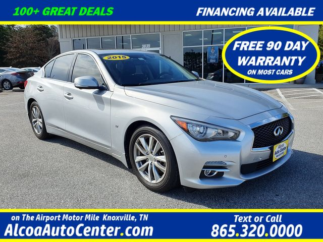 2015 Infiniti Q50 Premium w/Leather/Sunroof/Navigation