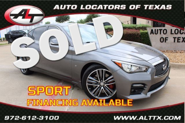 2015 Infiniti Q50 Sport | Plano, TX | Consign My Vehicle in  TX