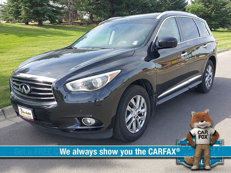 2015 Infiniti QX60 4d SUV AWD  city MT  Bleskin Motor Company   in Great Falls, MT